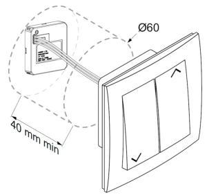 micro metteur hz pour volet roulant simu ou clairage. Black Bedroom Furniture Sets. Home Design Ideas