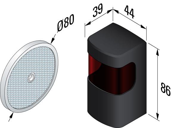 cellule reflex simu pour porte de garage simu moteur simu. Black Bedroom Furniture Sets. Home Design Ideas