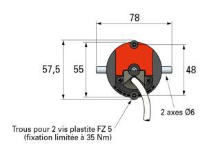 moteur simu t5 ebhz pour volet roulant compatible io somfy. Black Bedroom Furniture Sets. Home Design Ideas
