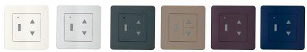 emetteur mural color simu pour moteurs simu hz ou somfy rts. Black Bedroom Furniture Sets. Home Design Ideas