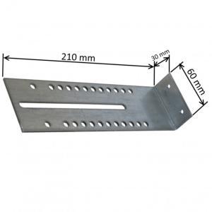 equerre linteau 210 x 30 x 60mm pour support pour syst me traditionnel. Black Bedroom Furniture Sets. Home Design Ideas