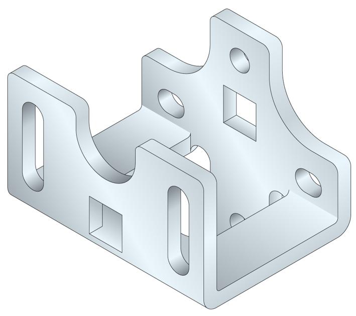 Support moteur simu t6 pour volet roulant ou porte de garage for Moteur pour porte de garage enroulable