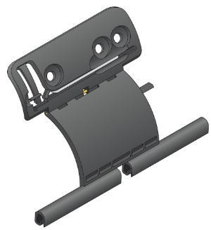 attache rigide pour tube zf 1 3 l ments. Black Bedroom Furniture Sets. Home Design Ideas