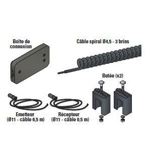 kit connexion composant pour lame palpeuse maxi 75 mm. Black Bedroom Furniture Sets. Home Design Ideas